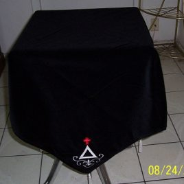 Cross and Triangle Corners Altar Cloth