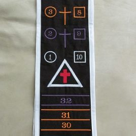Golden Dawn Practicus Sash