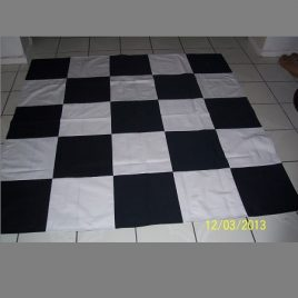 Checkerboard Floorcloth