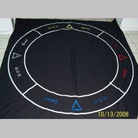 Magic Circle Floorcloth