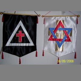Banners of East and West