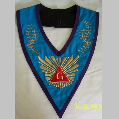 Grand Master collar – front