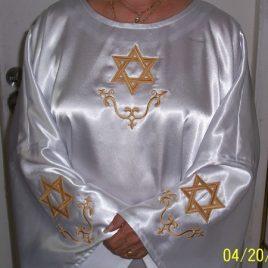Classic Hexagram Robe