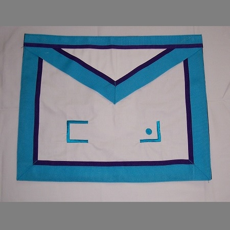 Master Mason apron – front