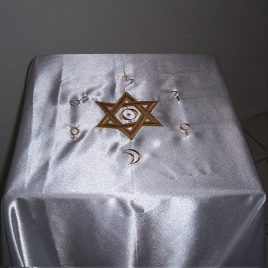 Solar Hexagram Cloth