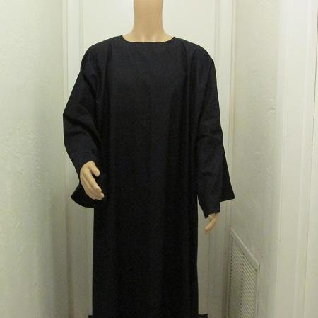 Black Tau robe 1