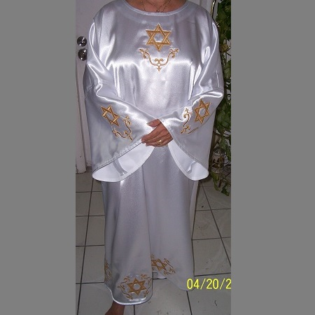 Delux Hexagram Robe
