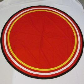 Martinist Circular Floorcloth
