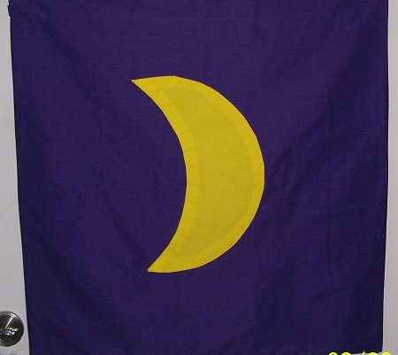 Moon Banner – large