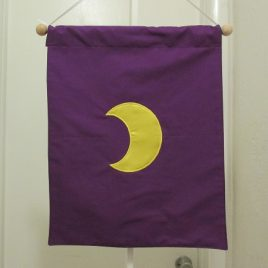 Planetary Banner (small) – Moon