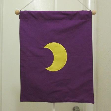Moon Banner – small